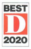 best d 2020 award